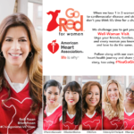 Start 2016 with a Healthy New You with the American Heart Association – Go Red For Women #YouGoGirl