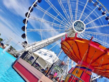 Centennial Wheel at Navy Pier | Pic by: @MJTam